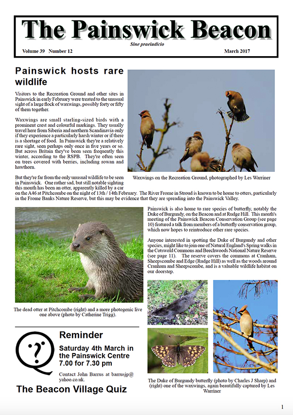 Painswick Beacon March 2017 Edition